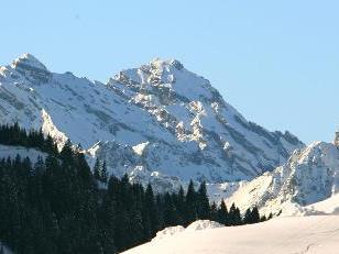 Früher Wintereinbruch in Fontanella