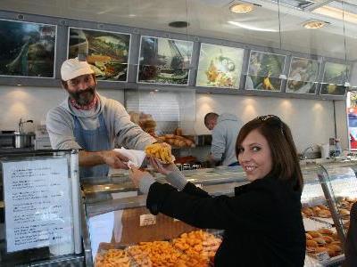 Für Fischliebhaber gab es auf dem Fischmarkt viele Köstlichkeiten