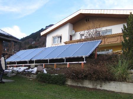 Für Solarenergie-Nutzung gibt es im Großen Walsertal noch Potential.