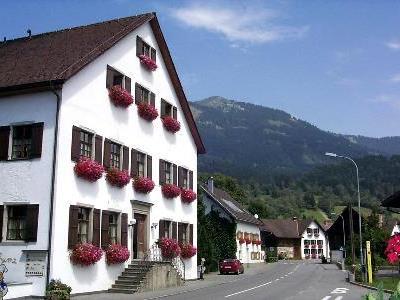 Gasthaus Krone in Bludesch derzeit ohne Bewirtung.