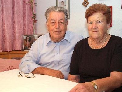 Genießen den gemeinsamen Lebensabend: Annelies und Gebhard Lins