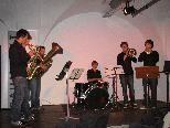 Herbert Walser und die Schiller-Horns sorgten für die passende musikalische Umrahmung