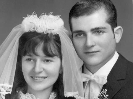 Hochzeit am 11. Oktober 1969