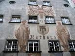 Im historischen Gebäude des Rathauses befindet sich der Bürgerservice