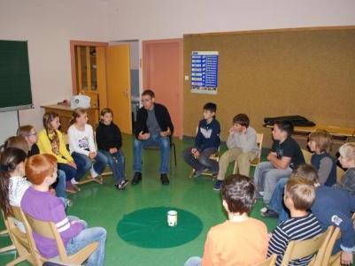 Informiert über Kinderrechte wurden die Kinder aus Tschagguns.