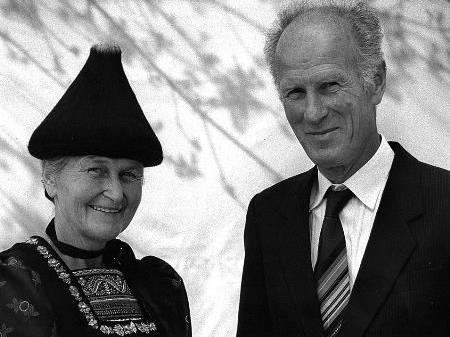 Josefine und Hans Zündel