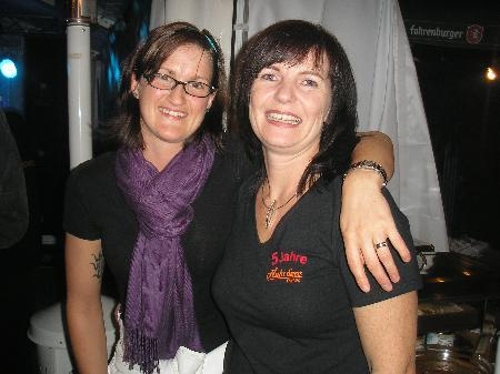 Marion (Gattin von Christian Willi) mit Sonja