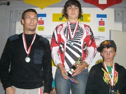 Markus Rüf (2.), Thomas Kleiner (1.) und Michael Lingg (3.)