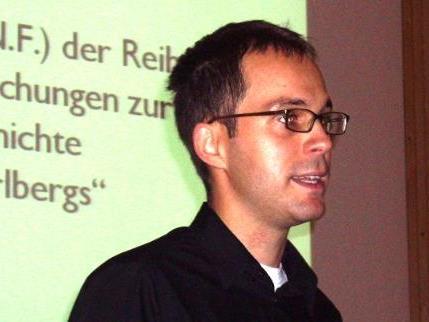 Mathias Moosbrugger aus Au studierte Theologie und Geschichte.