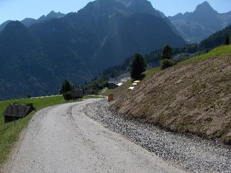 Mit Zeitverzögerung ist auf den Straßen vom Bürserberg zu rechnen.
