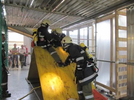Mit dabei beim Atemwettschutzkampf war auch die Feuerwehr Thüringerberg