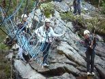 """Mit einer Exkursion in den Abenteuerpark Schröcken startete das Schuljahr im """"Poly"""" Bregenz."""