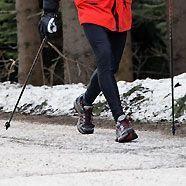 Nordic Walking im Winter birgt Gefahren