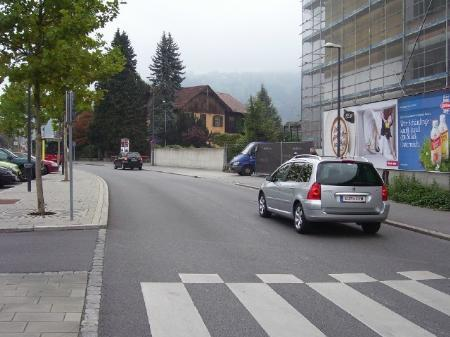 Regelmäßige Geschwindigkeitsübertretungen in der Dr.-Anton-Schneider-Straße.