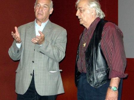 Roland Poiger und Walter Galetti.