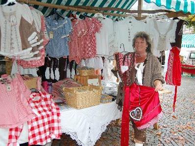 Schlechtes Wetter war beim Herbstmarkt in Schruns