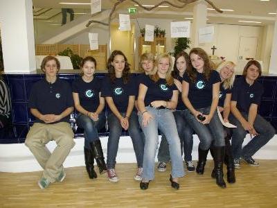 Schülerinnen vom Gymnasium Bludenz