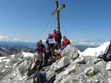 Sieben Gipfel oder 48 Kilometer und 4000 Höhenmeter in rund 20 Stunden.