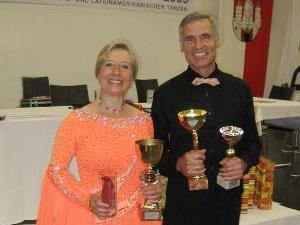 Siegerpaar: Helga und Kurt Mangard