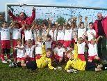 Trotz Niederlage hatten die Kicker vom U9 des FC Dornbirn allen Grund zum Jubeln.