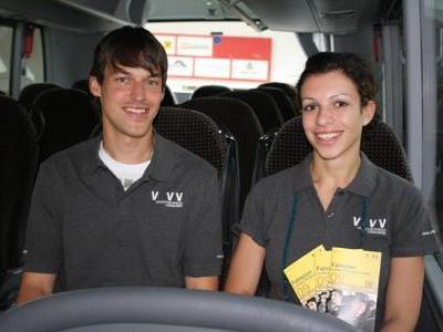 Urs Schwarz und Kathrin Berkmann freuen sich über die gelungene Umsetzung.
