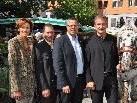 Vertreter von Land und Landwirtschaft feierten Erntedank.