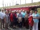 Vorarlberger Mundartautoren unterwegs mit Rheinbähnle