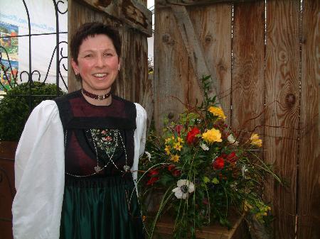 Weiterbildung macht im Alltag vieles leichter: Andrea Schwarzmann (Landesbäuerin)