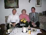 Wilma und Konstantin Moz feierten in der Nibelungenstraße.