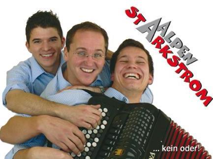 Alpenstarkstrom spielt beim ORF Frühschoppen in Bludenz