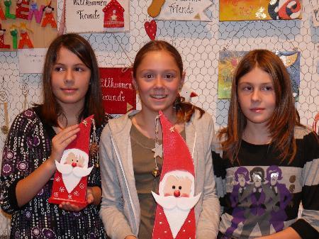 Auch weihnachtliche Bastelideen werden bei der Hobby- und Kunstausstellung in Hörbranz präsentiert.