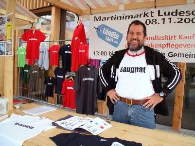 Bald ist wieder Martinimarkt in Ludesch