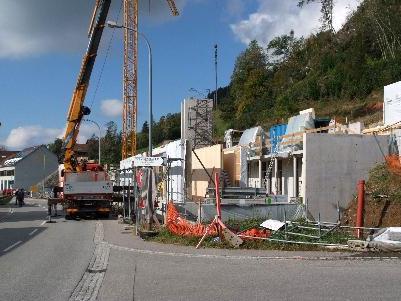 Bau des neuen Gemeindezentrums liegt im Zeitplan