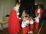 Bei den Jüngsten schaute auch St. Nikolaus vorbei.