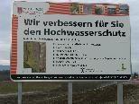 Bild: Im Sommer 2010 wird das gemeinsame Hochwasserschutzprojekt abgeschlossen.