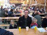 Bürgermeister Dieter Lauermann mit seinen Kindern