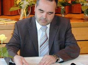 Bürgermeister Helmut Blank