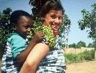 Dame mit Kind Togo/Togoville