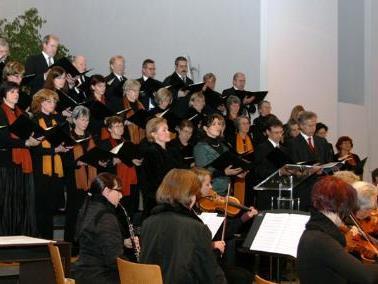 Das Collegium Vocale Lustenau beim Haydn-Konzert.