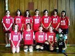Das Volleyballteam der VMS Au.