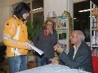 Der Autor signierte im Anschluss seine Bücher und ermöglichte ein persönliches Gespräch.