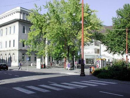 Der Kornmarktplatz wird im Zuge des Umbaus vom Landesmuseum nur eingeschränkt nutzbar sein.