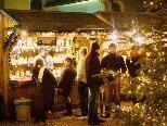 """Der Punschgarten des Restaurants """"im Palast"""" ist ab Donnerstag geöffnet."""