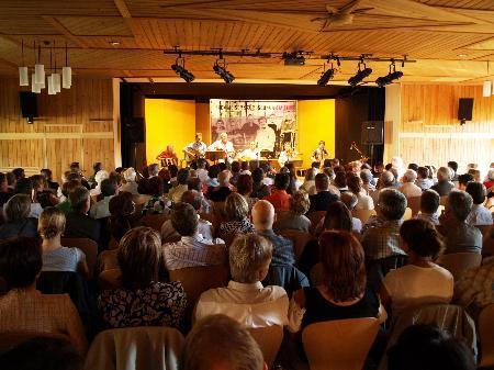 Der Thalsaal wurde zum Treffpunkt kultureller Aktivitäten