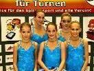 Die Gymnastinnen der TS-Röthis