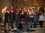 Die Jugendlichen machen begeistert bei der Gestaltung der Jugendgottesdienste mit.