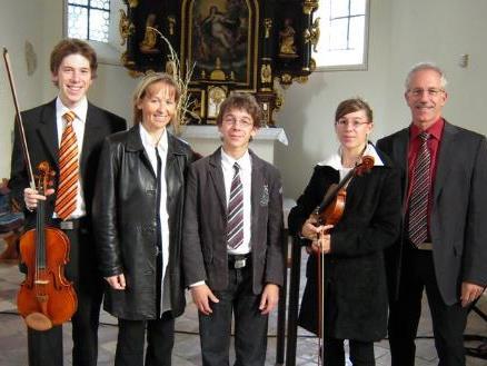 Die Musikerfamilie Breuss präsentiert am Sonntag in der Erlöserkirche ein kirchenmusikalisches Konzert.