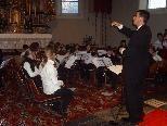 Die Musikschule Bregenzerwald lädt zum Adventkonzert nach Langenegg.