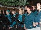Die Sängerinnen begeisterten bei ihrem Konzert.