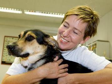 Dr. Andrea Rupp führt ihre Tierarztpraxis seit 20 Jahren